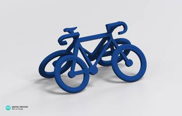 Bicycle keychain